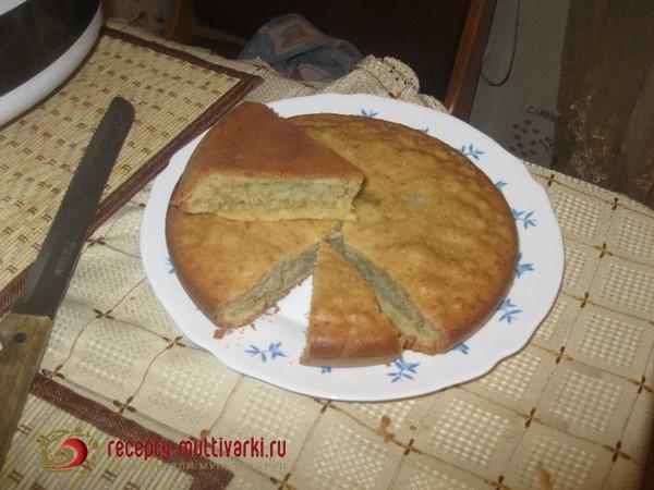 как приготовить бисквит в мультиварке борк