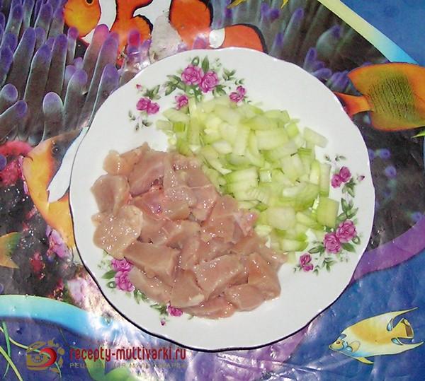 гречка с мясом в мультиварке