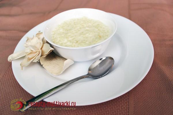 рецепт приготовления рисовой каши в мультиварки
