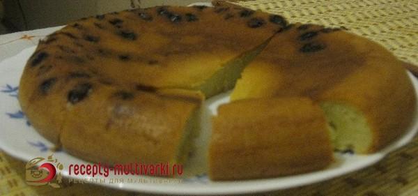 рецепт кекса в мультиварке поларис