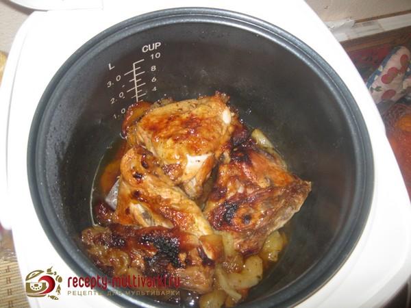 куриные бедрышки с медом