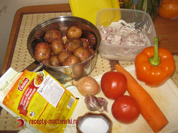 рагу из свинины в мультиварке рецепты с фото