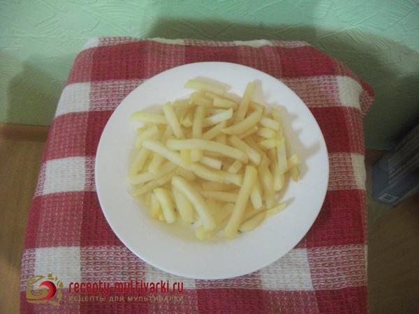 рецепт картошки фри в мультиварке