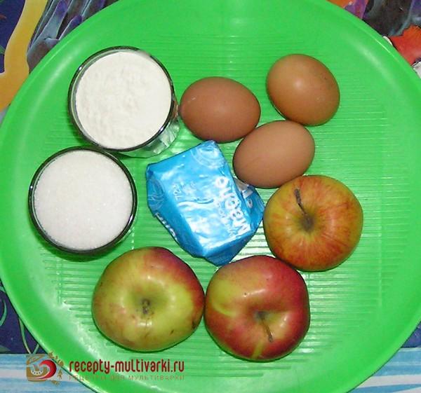 мультиварка филипс рецепт яблочного пирога