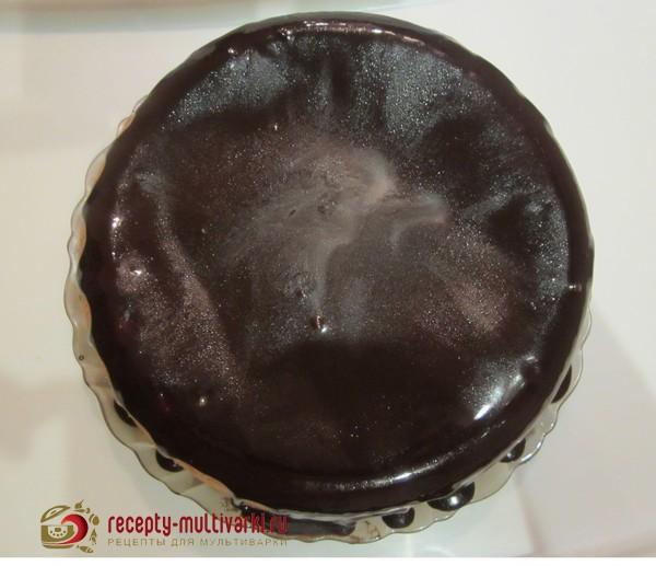 шоколадный торт в мультиварке редмонд