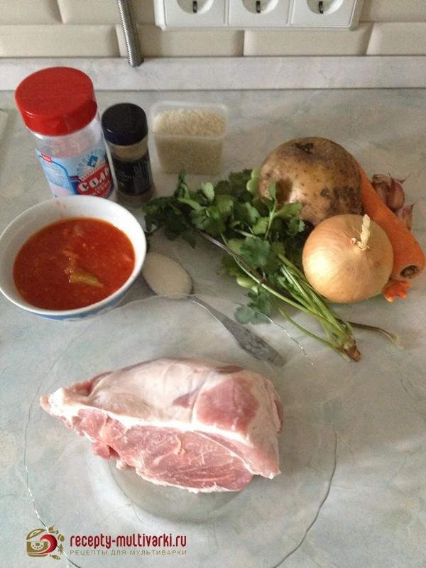 рецепт супа харчо для мультиварки