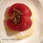 Перцы с овощным фаршем (вегетарианские)
