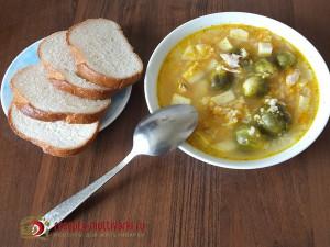 в мультиварке суп из риса