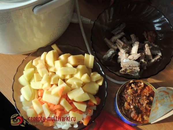 рецепты рыбного супа для мультиварки панасоник