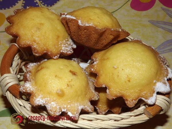 Кексы рецепты простые в железных формочках с фото пошагово