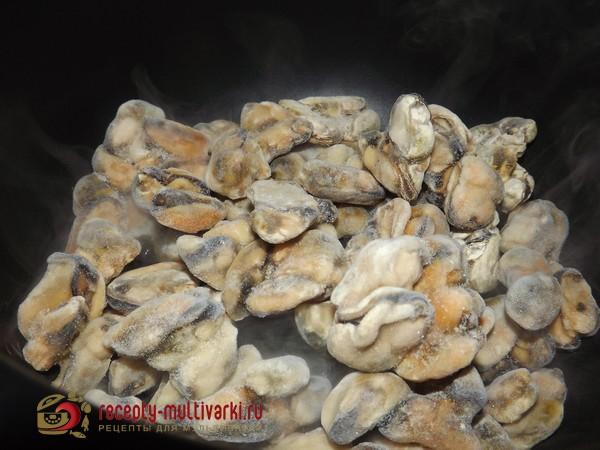 рецепт приготовить замороженные морепродукты