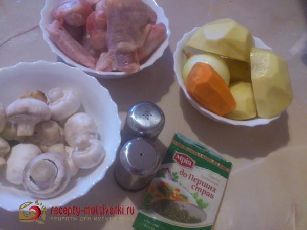 рецепты для мультиварки редмонд из чахохбили