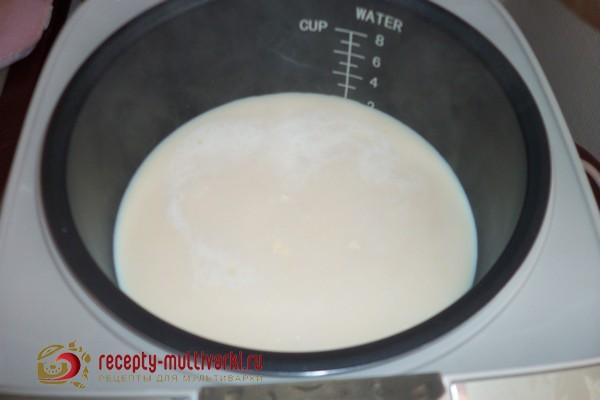 рецепт топленого молока из мультиварки