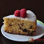 Чудесный лимонный пирог с черносливом