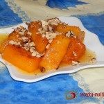 Овощной десерт из тыквы