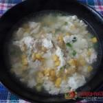 Оригинальный китайский куриный суп с кукурузой