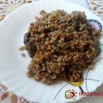 Крестьянская (гречневая) каша с печенкой