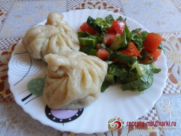Хинкали пошаговый рецепт с фото в мультиварке