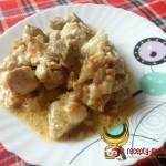 Готовим тушеное мясо с грибами на ужин