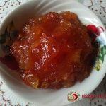 Яблочный конфитюр с корицей