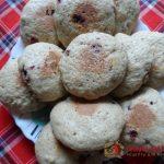Печенье с брусникой