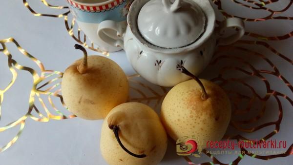 Варенье из груш