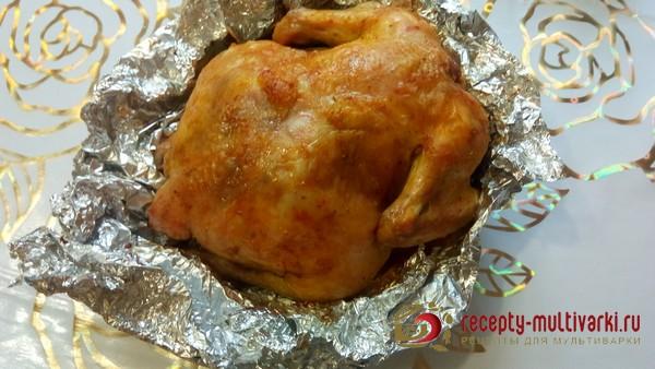 Курица с черносливом и яблоком