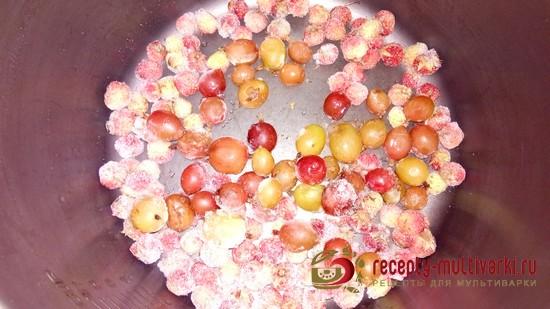 Компот из замороженных ягод
