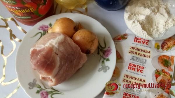 Подлива из свинины